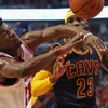 Derrick Rose sinks a buzzer-beater to beat Lebron and the Cavs