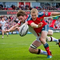 Ulster set to appeal Iain Henderson's red card against Munster