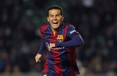 Barcelona's Pedro shows it's not all about MSN with terrific over-head kick