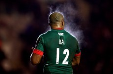 Seremaia Bai will think twice before using headbutts to clear out a ruck again