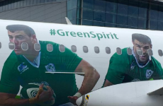 Robbie Henshaw now has his face on a plane - he'll be doing in-flight safety notices next