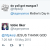 Some Irish people got an awful shock over Mother's Day today