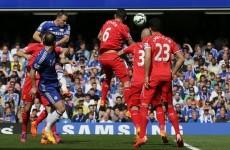 As it happened: Chelsea v Liverpool, Premier League