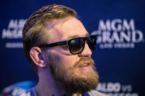 UFC title challenger Conor McGregor.