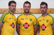 Donegal will wear a special one-off jersey next Sunday to promote farm safety