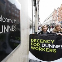 The Dunnes Stores strike hasn't stopped people shopping there