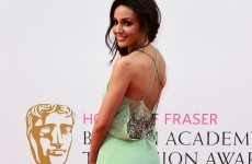 Why was Michelle Keegan's dress so creased at the BAFTAs last night?