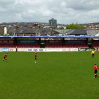 This Cork teenager is better at long-range free-kicks than you (unless you're Cristiano Ronaldo)