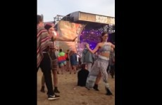 This guy tried to interrupt a girl's mesmerising dancing, and got the epic brush off