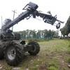 Army bomb robot examines suspect 'flower pot' outside Dublin barracks