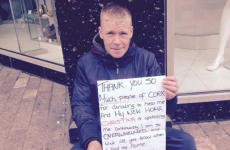 Over €2,000 raised for homeless man whose tent and possessions were burned by teen gang