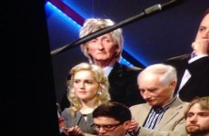 What was Rod Stewart doing at Claire Byrne Live last night?