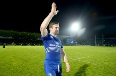 Gordon D'Arcy just might have played his last game for Leinster