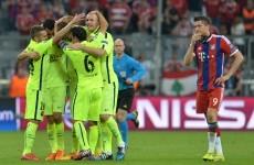 Barcelona qualify for Champions League final despite Munich loss