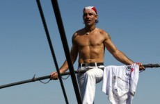 Tightrope walker to set seven records in seven days...