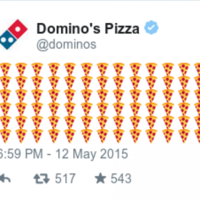 Domino's is letting customers order pizza through Twitter with emojis