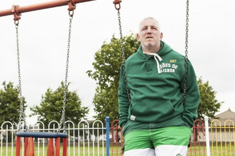 Stephen Clinch in a scene in TV3's Darndale which aired last year