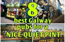 8 of the best Galway pubs for a nice quiet pint