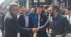 Selfies, beards and tears: Gerry Adams was like a pop star on Grafton Street this lunchtime