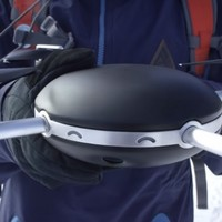 This camera drone flies itself and will follow you wherever you go*