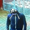 This robber met his match when his victim set about him with a rather large umbrella