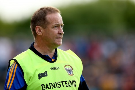 Clare football manager Colm Collins.