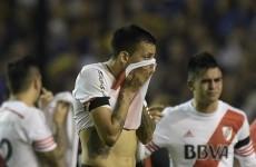 Boca Juniors versus River Plate suspended after apparent tear gas attack