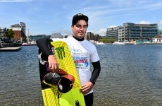 The Irishman at the top of his game in one of the world's fastest growing watersports