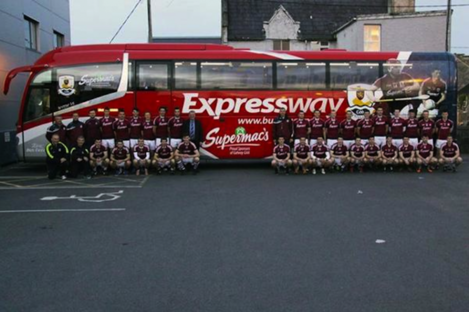 This bus will ferry the Galway senior footballers and hurlers this summer
