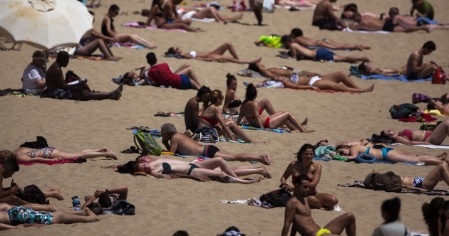 Get jealous - a heatwave in Spain and Portugal just reached 43 degrees