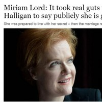 Miriam Lord trended on Twitter after her 'divine' and touching Ursula Halligan article