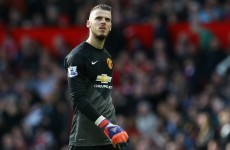 Van Gaal: De Gea's replacement is already lined up