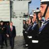 These Irish seamen are setting sail for the Mediterranean today