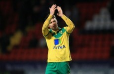 Wes Hoolahan scores as Norwich book their place in the play-off final