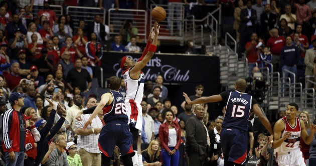 The Washington Wizards' season was literally decided by a fingertip at the buzzer