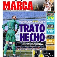 'Done Deal' - Spain's biggest newspaper says De Gea is off to Real Madrid