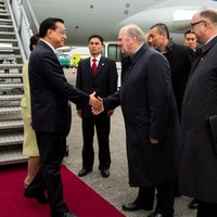 Ireland rolled out the red carpet for China's second most powerful man today