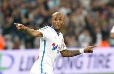 Liverpool on red alert as Andre Ayew confirms he's leaving Marseille
