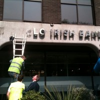 Anglo Irish Bank reports half yearly losses of over €100 million