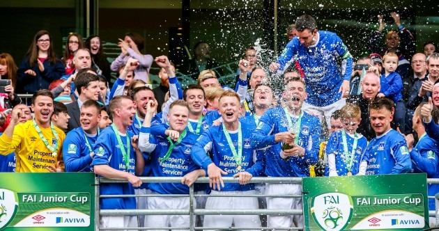 It took 110 minutes and a fair whack of drama to decide today's FAI Junior Cup final