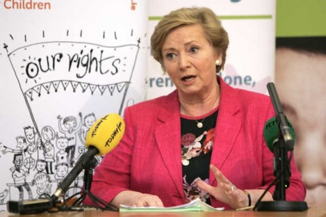 Minister for Justice Frances Fitzgerald