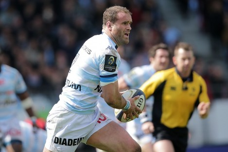 Roberts has hit his best form in the centre for Racing Metro this season.