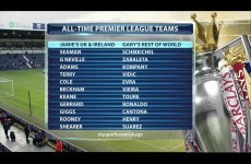 Do you agree with Jamie Carragher & Gary Neville's All-Time Premier League teams?