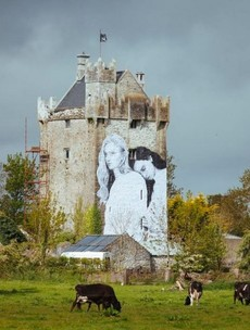 Pictures: The new lesbian mural placed on the side of a castle in Co Galway