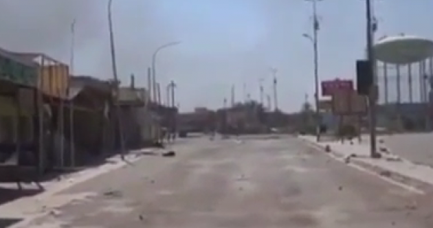 Video shows how a city became a ghost town after being taken by ISIS