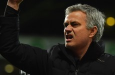 Mourinho slams referee over Fabregas red card