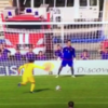 He might be a goalkeeper, but it's clear Luca Zidane is his father's son