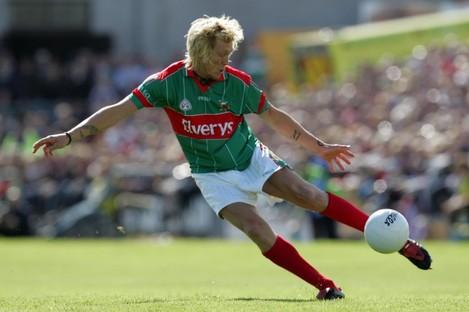 Former Mayo forward Ciaran McDonald.