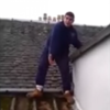 This Scottish man got stuck on a roof, and he's not at all happy about it