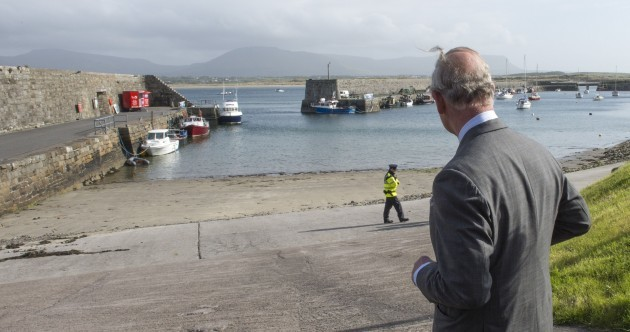 """The grandfather I never had..."" Prince Charles visits site of attack on Lord Mountbatten"